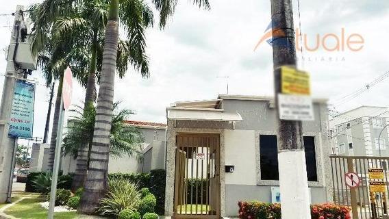 Apartamento Com 2 Dormitórios À Venda, 46 M² Por R$ 180.000 - Chácaras Fazenda Coelho - Hortolândia/sp - Ap3365