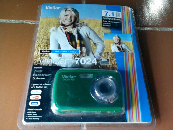 Camara Digital Vivitar 7 Mp Usada Como Nueva!!!