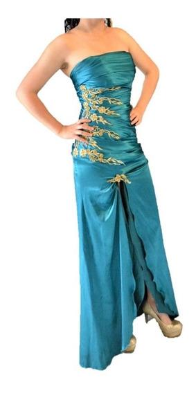 Precioso Vestido Largo Graduación, Fiestas, Boda, Xv Años