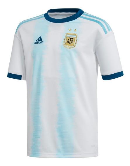 Camiseta Futbol Poliester Blanco Agusua Afa H Jsy Y adidas