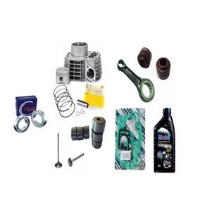 Kit Cilindro Titan150+biela+jogo Junta+válvulas+rolamento