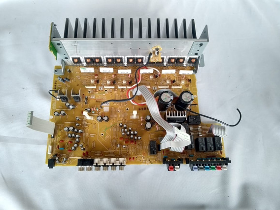 Placa Amplificada Do Receiver Onkyo Ht-r391 Usado -