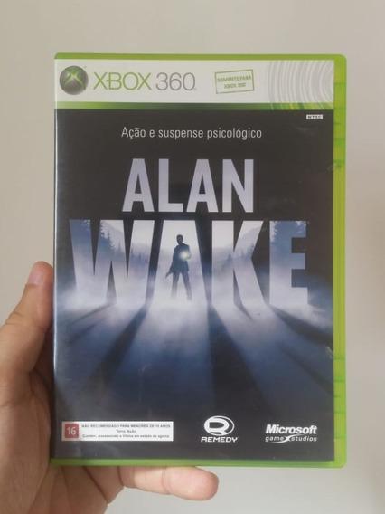 Alan Wake Original Mídia Física Xbox 360 - Frete R$12