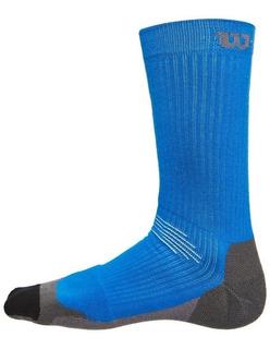 Calcetas Wilson Caballero High End 1 Par Azul