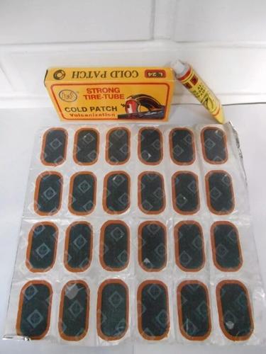 Caja De Parches Cold Patch.. Para Carros  Motos Y Bicicletas