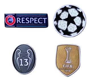 Set Parches Real Madrid 2019 - 2020. Champions League. 13