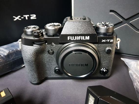 Fujifilm X-t2 + 3 Baterias (12x S/ Juros)