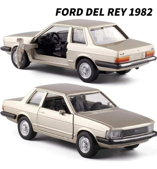 Ford Del Rey 1982 Miniatura Clássicos Nacionais- 11 Cm Novo