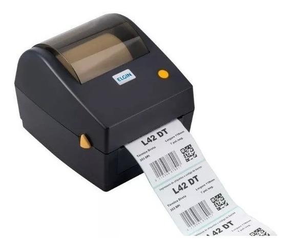 Impressora De Etiquetas Térmicas Sem Ribbon Elgin L42 Dt
