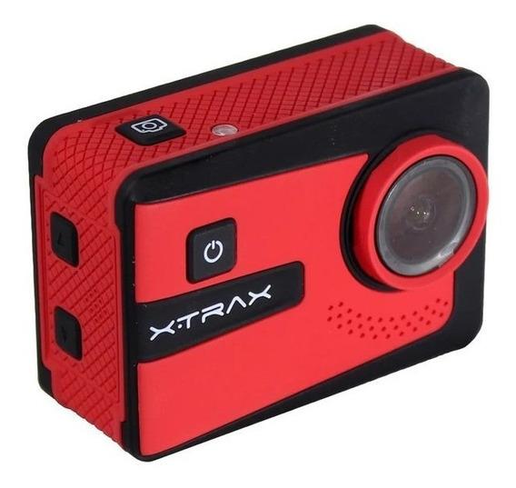 Filmadora De Ação Smart 4k Com 20 Acessórios Estilo Go Pro