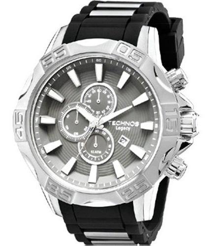 Relógio Masculino Technos Prateado Os10ex8p