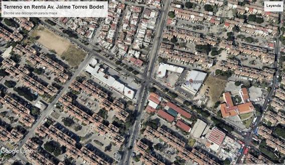 Terreno En Renta Jaime Torres Bodet