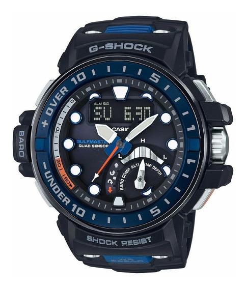 Relógio Masculino G-shock Gwnq10001a Resina