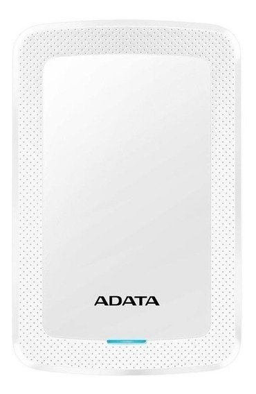 Disco duro externo Adata HV300 AHV300-1TU31 1TB blanco