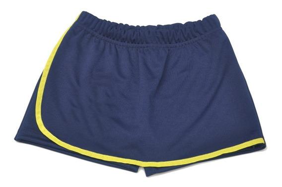 Kit Com 3 Shorts Saia 3 Bermudas Infantil