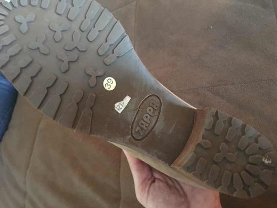 Zapato Primavera Zappa Una Postura