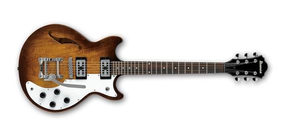 Guitarra Electrica Ibanez Amf73t Tbc Puente Tipo Bigsby Caja