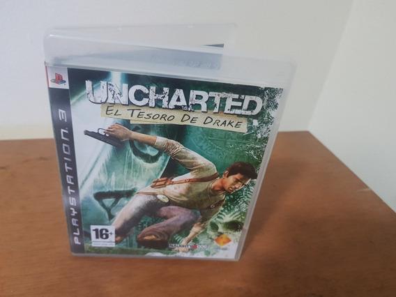 Uncharted El Tesoro De Drake Original Ps3 Mídia Física