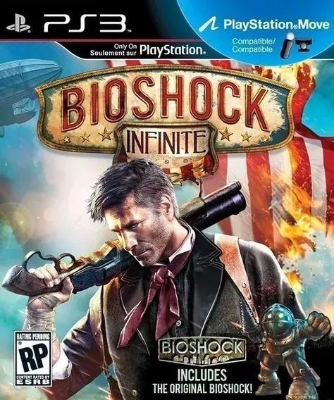 Bioshock Infinite Playstation 3 Psn Jogo Original Envio Rápi