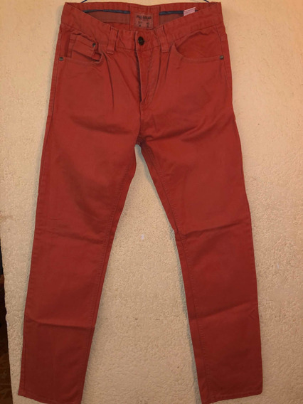 Jeans Color Salmon Pull And Bear