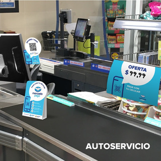 Kit Oficial De Almacenes Para Código Qr De Mercado Pago