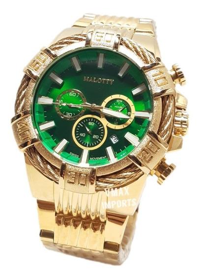 Relógio Malotty Original 100% Funcional Masculino