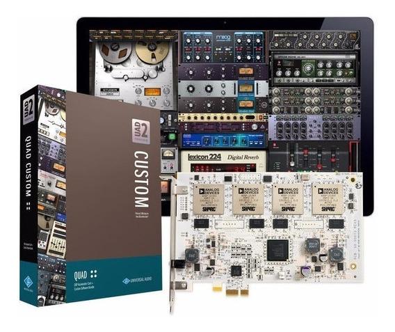 Universal Audio Uad-2 Quad Pci Tarjeta Pcie Acelerador Dsp