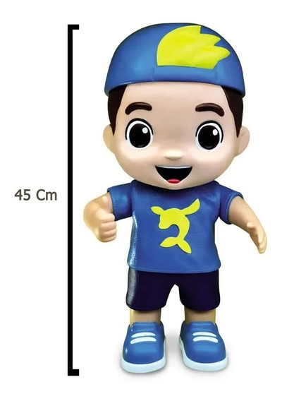 Boneco Luccas Neto Grande 45cm Articulado Original Mimo Toys