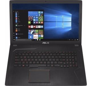 Notebook Asus Fx Gamer I7 7º 8g*cuotas Tarjeta Sin Interés