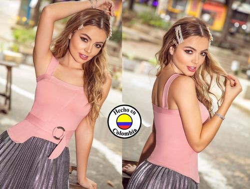 Polera Moda Colombiana Compresión Media R1_10231