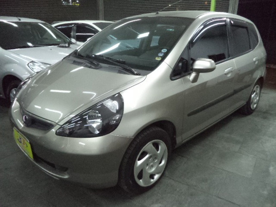 Honda Fit 1.4 Lx Autom Completo Airbags 2005 Cinza