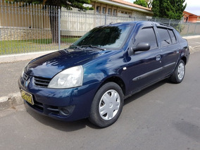 Clio Sedan Expression 1.0 Flex Ano 2007