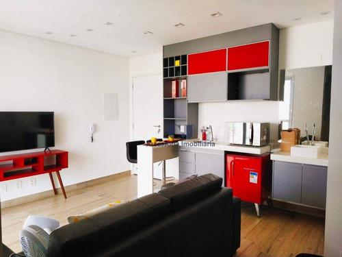 Imagem 1 de 6 de Studio Com 1 Dormitório Para Alugar, 33 M² Por R$ 1.800,00/mês - Jardim Faculdade - Sorocaba/sp - St0001