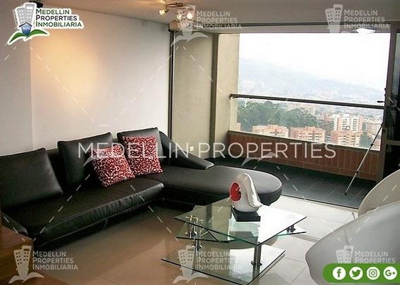Apartamentos En Arriendo Amoblados En Medellin Cód: 4204