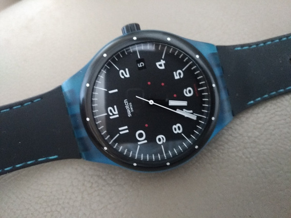 Swatch Automatico System 51 Militar Look Novo De 2015