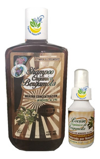 Shampoo Bergamota Orgánico Premium + Loción