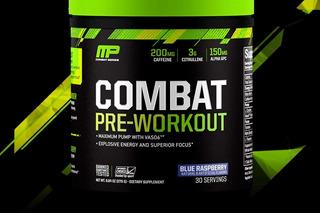 Combat - Pre Workout Mp Musclepharm Pré-treino 30 Doses Eua