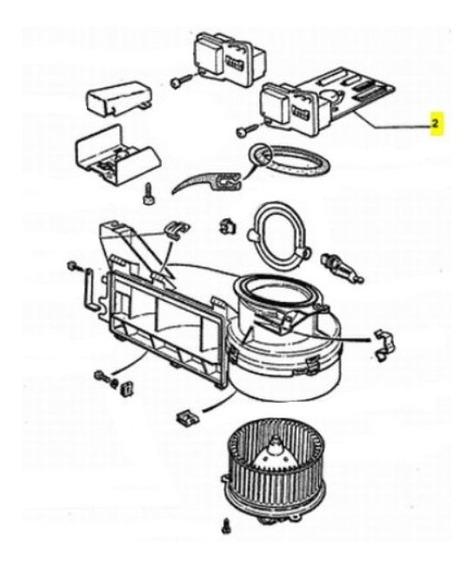 Modulo Climatizador Peugeot 205 1.4 N