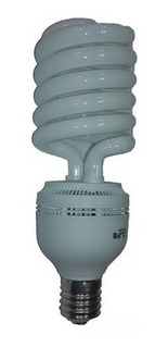 Lampara Bajo Consumo Helical 105w Espiralada Luz Dia E40