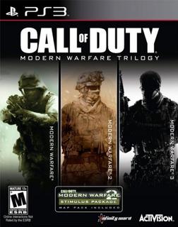 Call Of Duty Modern Warfare Trilogy + Dlc 1 - Playstation 3