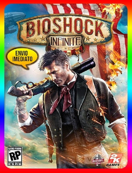 Bioshock Infinite Pc - 100% Original Steam Key (envio Já)