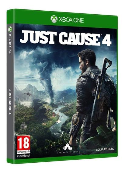 Jogo Just Cause 4 Xbox One Midia Fisica Cd Original Lacrado