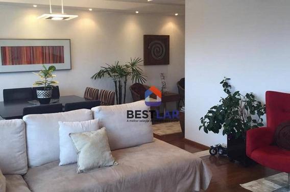 Apartamento À Venda, 121 M² Por R$ 1.152.250,00 - Indianópolis - São Paulo/sp - Ap8078