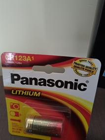 Pilha/bateria Panasonic Cr 123a 3v