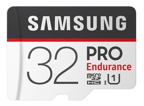 Cartão Micro Sd Samsung Pro Endurance C. Segurança - 32gb