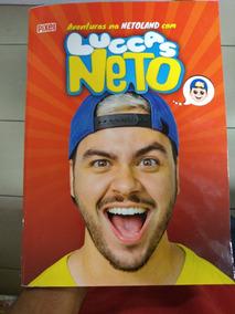 Livro Infantil Do Youtuber Luccas Neto!!!