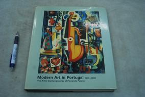 Livro Modern Art In Portugal 1910-1940 Capa Dura 334 Páginas