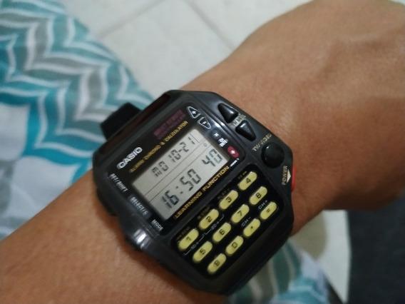 Raro Relógio Casio Cmd 40 Semi-novo Oportunidade Única