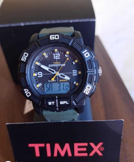 Relógio Timex Expedition Double-shock 200m T49967wkl/tn