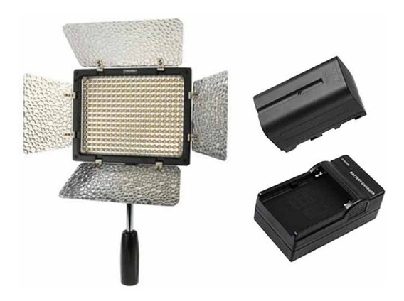 Lampara Yn300 Led Version 3 Bicolor Con Bateria Y Cargador